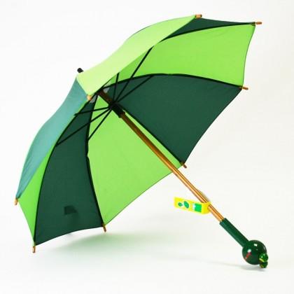 Parapluie enfant en bois yabon la grenouille - Parapluie de jardin ...