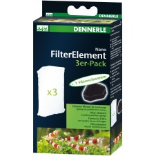 Nano Clean filtre d'angle Dennerle - Pour nano-aquarium de 10/40L