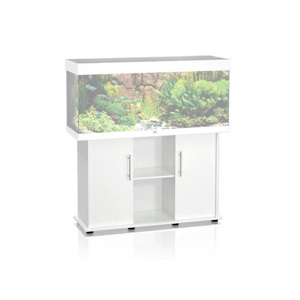Juwel aquarium meuble rio 240 blanc for Meuble aquarium blanc