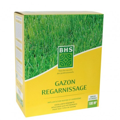 Gazon regarnissage bhs 3kg - Gazon de regarnissage ...