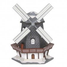 "Moulin ""Lakeside Wooden Windmill"" - LUVILLE"