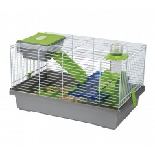 Cage pour hamster Mica grise