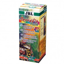 "Vitamines pour reptiles ""TerraVit fluid"" JBL - 50ml"