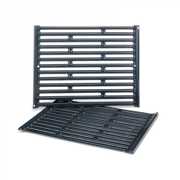 Barbecue gaz grille fonte emaillee - Grille de cuisson pour barbecue ...