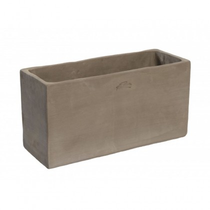 Jardini re haute goicoechea 50 cm gris for Jardiniere haute et etroite
