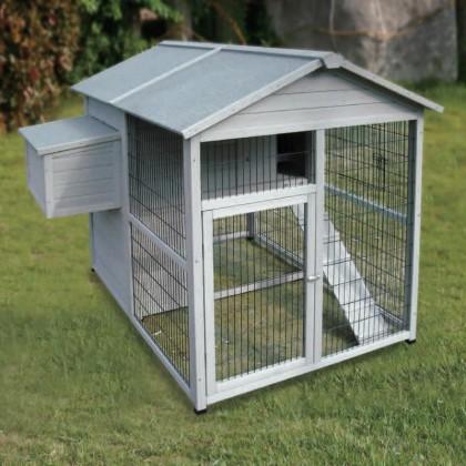 poulailler en bois de c animals 160x141cm. Black Bedroom Furniture Sets. Home Design Ideas