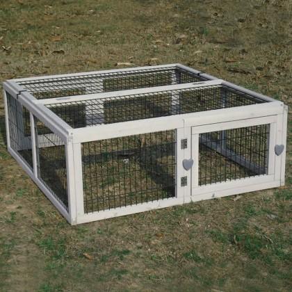 Parc pour lapin desjardins for Parc pour lapin exterieur