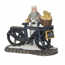 "Figurine ""Baker on Bike"" - LUVILLE"
