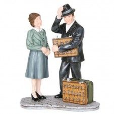 """Figurine """"Mrs Baker Buys Some Scissors"""" - LUVILLE"""