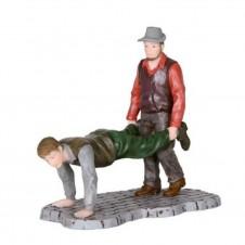 "Figurine ""Walking Wheelbarrow"" - LUVILLE"