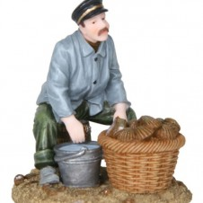 """Figurine """"Luc l'ostréiculteur"""" - LUVILLE"""