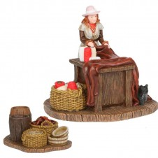 """Figurines """"Madame Sophie and Table"""" - LUVILLE"""