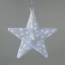 """Sujet acrylique led """"étoile"""" 60 cm - LUMINEO"""