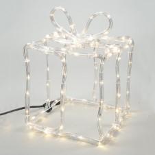"Sujet tube led ""cadeau"" 6 m - LUMINEO"