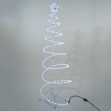 "Sujet tube led ""sapin spirale"" 170cm - LUMINEO"