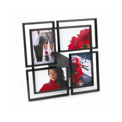 cadre multi photo noir umbra. Black Bedroom Furniture Sets. Home Design Ideas