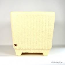 """Pot carré EDA """"Sequoïa"""" plastique - 48,5x48cm"""