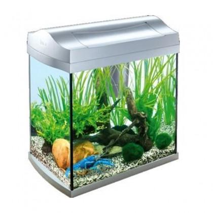 Aquarium aqua art 30l gris for Poisson aquarium 30l