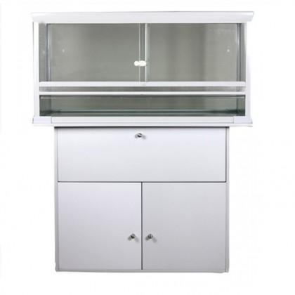 meuble pour terrarium white pearl 80 x 50 x 50 cm. Black Bedroom Furniture Sets. Home Design Ideas
