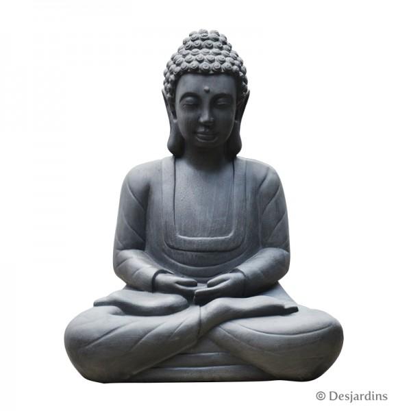 statue de bouddha assis grand mod le desjardins. Black Bedroom Furniture Sets. Home Design Ideas
