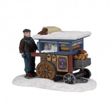 """Figurine """"Coffee and Sweets Cart"""" - LUVILLE"""