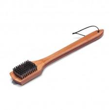Grande brosse avec manche en bois - WEBER