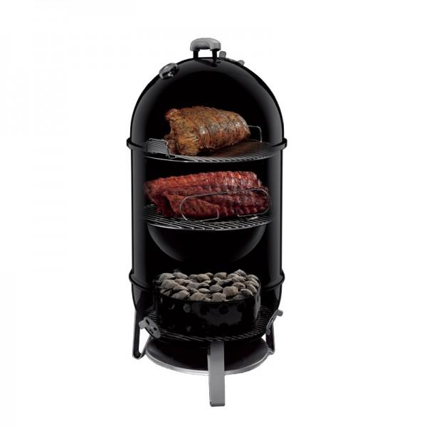 fumoir smokey mountain cooker 47 cm noir housse weber. Black Bedroom Furniture Sets. Home Design Ideas