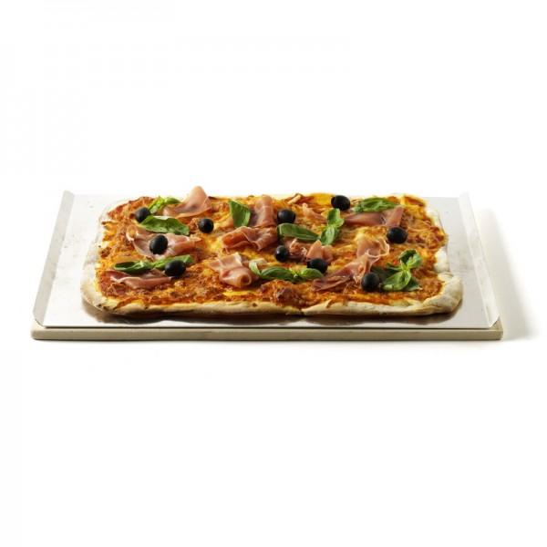 pierre pizza rectangle pour barbecue gaz weber. Black Bedroom Furniture Sets. Home Design Ideas