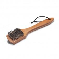 Petite brosse avec manche en bois - WEBER