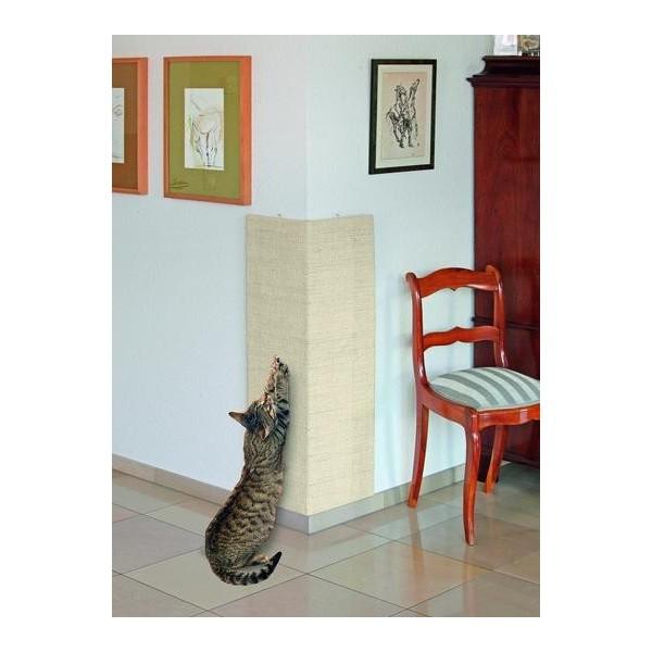 griffoir d 39 angle pour chats 56x100cm. Black Bedroom Furniture Sets. Home Design Ideas