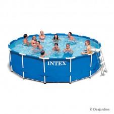 Kit piscine en métal frame - 3,66 x 0,99 m - INTEX