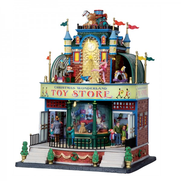 Boutique christmas wonderland toy store lemax for Jouetstore