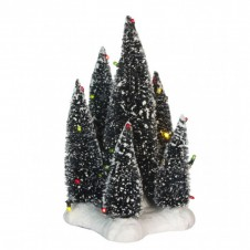 """Arbres """"6 Trees on Base"""" multicolore - LUVILLE"""