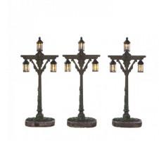 "Réverbères ""Wooden Lantern"" x3 - LUVILLE"