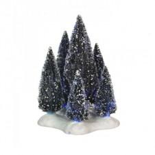 "Arbres ""6 Trees on Base"" fibre optique - LUVILLE"