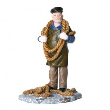 """Figurine """"Elie le débardeur"""" - LUVILLE"""