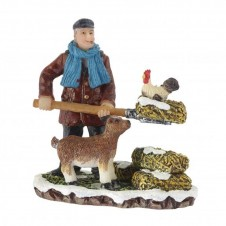 "Figurine ""Cleaning the Farm"" - LUVILLE"