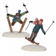 """Figurines """"Ski Jumpers"""" - LUVILLE"""