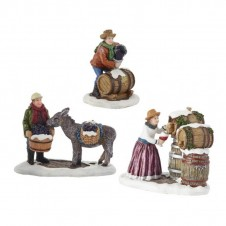 """Figurines """"Working on The Winery"""" - LUVILLE"""