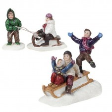 """Figurines """"The Sledge Parade"""" - LUVILLE"""