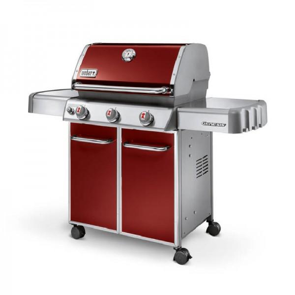 barbecue gaz genesis e 310 gbs rouge weber. Black Bedroom Furniture Sets. Home Design Ideas
