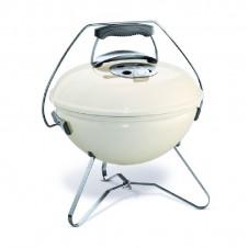 "Barbecue charbon ""Smokey Joe Pretium"" 37 cm, blanc crème - WEBER"