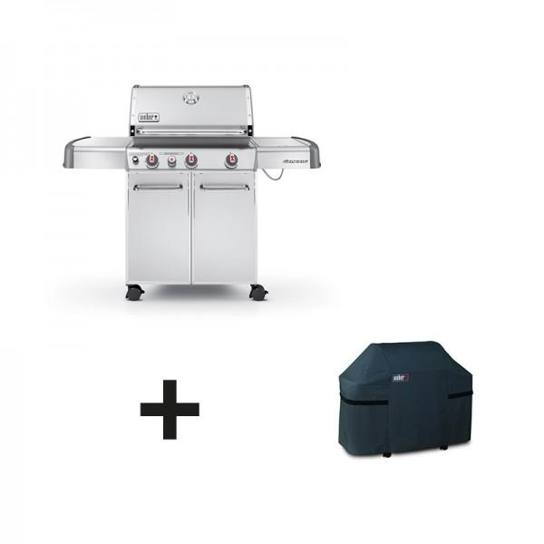 Barbecue weber genesis s330 inox for Barbecue gaz weber genesis s330 inox