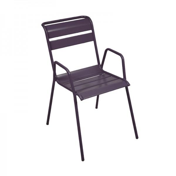 chaise bridge monceau fermob. Black Bedroom Furniture Sets. Home Design Ideas
