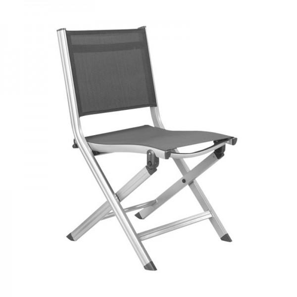 Chaise Pliante Basicplus Gris Argent Kettler