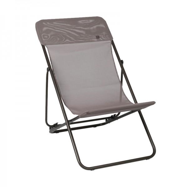 Chaise longue maxi transat batyline lafuma - Lafuma chaise longue ...