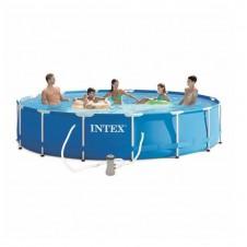 "Kit piscine ""Metal Frame"" Ø 4,57 m- INTEX"