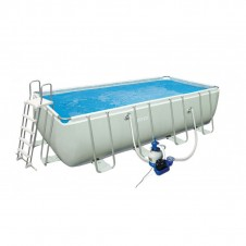 "Kit piscine ""Ultra Silver"" 5,49x2,74 m - INTEX"