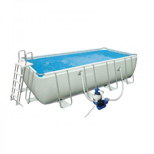 Kit piscine ultra silver 5 49x2 74 m intex for Piscine hors sol ultra frame 549 x 132 cm