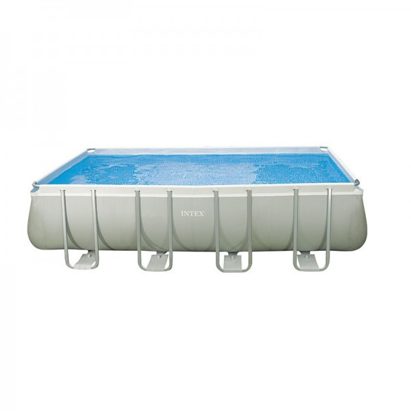 Kit piscine ultra silver 4 57x2 74 m intex for Accessoire piscine 74